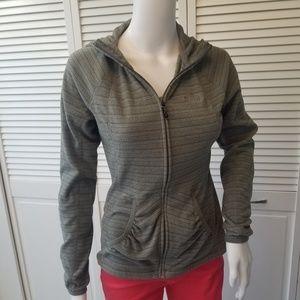 The North Face womens lightweight fleece hoodie